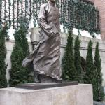 Statue of a young Dr. Sun Yat Sen
