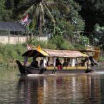 Cruising along the river