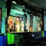 Backstage with a Chinese opera troupe in Penang, Malaysia