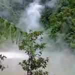 Kidapawan's hidden eden-Lake Agco situates itself at the foot of Mt. Apo, a steaming blue lake where hot and cold springs meet