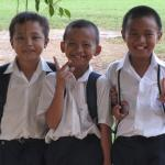 School boys in Bata Puteh
