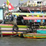 River boats in Bangkok