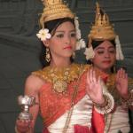 Traditional dancers in Cambodia