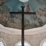 Details of paintings on the ceiling of Magellan's cross