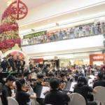 CKC Jose Gomez Symphony Orchestra at a concert in the Mall of Asia Manila, Philippines (Photo CKC PR, Calbayog City)