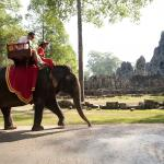 Elephant Ride in Siem Riep