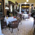 The beautiful restaurant at Ullen Sentalu Museum