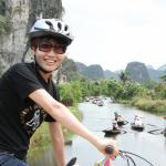 Biking in Ninh Binh, Vietnam