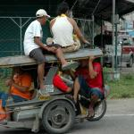 Creative Conveyance, overloaded tricycle.