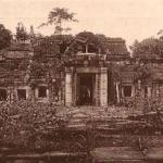 Khmer ruin in the 1920s, the setting for The Map of Lost Memories.