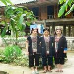 la mode traditionnelle chez les femmes Dzao au village de Vulinh, Thac Ba - Vietnam.