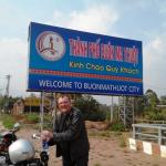 Buon Ma Thuot city in the highland of Vietnam