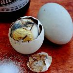 Crazy, Crawly, Creepy and Crunchy, Balut.
