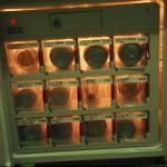 An in-fridge vending machine