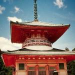 The Kompon Daito (Great Pagoda), symbol of Koyasan