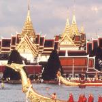 Royal Barge on Chao Phraya River