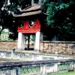 Hanoi's oldest Temple of Literature, founded in 1070.