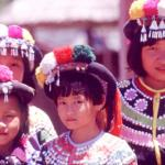 Children in native dress.