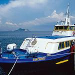 The Sun Cruiser ferries tour groups from Manila Bay to Corregidor every day.