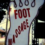 Get your foot massage!