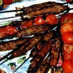 Kubideh Kabab.