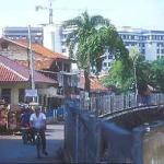Canals bequeathed by the Dutch colonisers of Jakarta, which they christened Batavia.