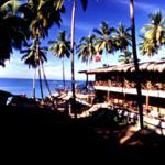 Seaside hotel.