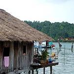 Bang Bao fishing village, Koh Chang, Thailand.
