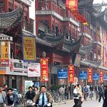 Shanghai Old Street, Shanghai, China.