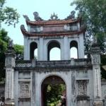 Van Mieu, or the Temple of Literature, was founded in 1070 as Vietnam's principal Confucian sanctuary and to honor Vietnamese scholars.