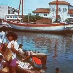 Sunda Kelapa, the old trading harbor of Jakarta.