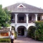 Villa Santi, also known as Villa de la Princesse, is a guesthouse set up in the family home of a Lao princess. The original villa was extensively remodelled by the princess and her husband in 1991 and decorated with traditional arts and antiques.