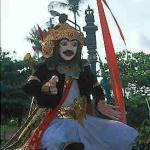 Opening parade, 1999 Nusa Dua Festival.