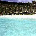 A view of the Berjaya Redang Beach Resort