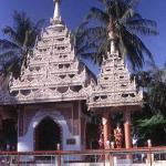 Dharmmikarama Burmese Temple, Georgetown's only Burmese temple.