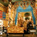 Sumptious surroundings, Cao Dai temple.