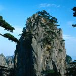 Huangshan (Yellow Mountains), Anhui Province, China.