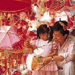 Chinatown gets ready for Lantern Festival.