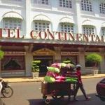 For a touch of old French colonial life, stay at the Hotel Continental.