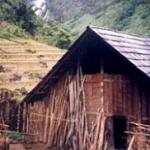 A Dao house in Northern Vietnam, near the Chinese border.