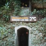 Communists fighting in Malaya dug 30 meters deep tunnels as shelter and a hideaway from government forces.