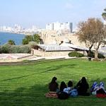 View of Tel Aviv from Jaffa.