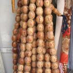 Prayer beads in the Jerusalem bazaar.