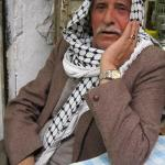 Arabic actor Salim Shwaikei in the Old City.