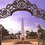 Merdeka Square, site of the declaration of independence of Malaysia. Kelantan, Malaysia.