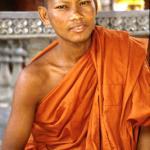 Monk. Phnom Kulen.