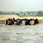 Chilling Out On The Taj. Agra, India.