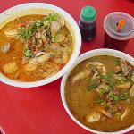 Curry Seafood and Tom Yam Noodles!