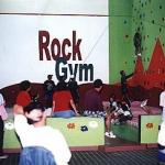 Indoor rock climbing at the Eco Sports Club.