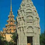 Temples in the grounds of the Royal Palace, Phnom Penh